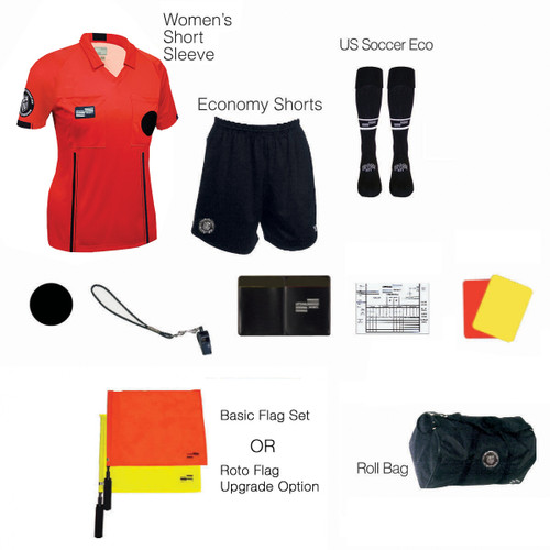 W1815R Women's Red 11 Piece USSF Starter Kit RBag
