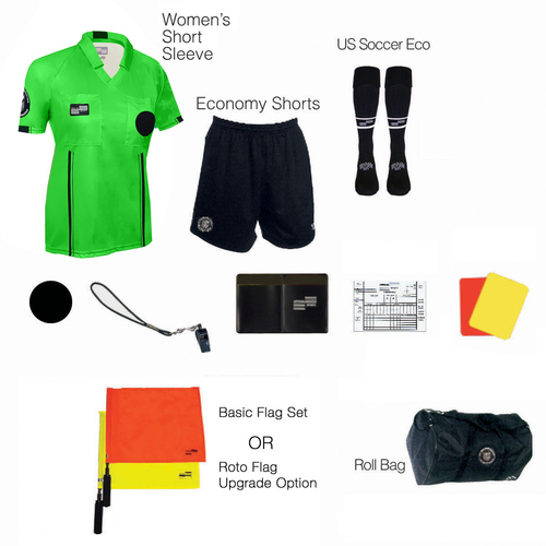 W1815G Women's Green 11 Piece USSF Starter Kit RBag