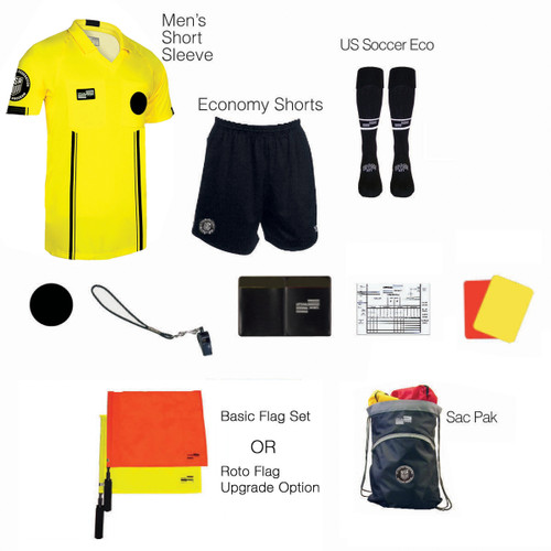 1815Y Men's Yellow 11 Piece USSF Starter Kit SPak