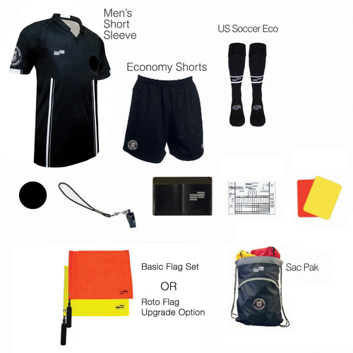 1815B Men's Black 11 Piece USSF Starter Kit SPak