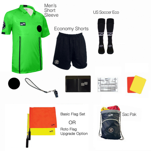 1815G Men's Green 11 Piece USSF Starter Kit SPak