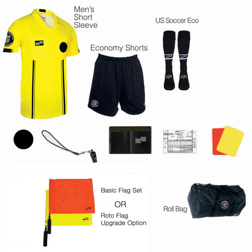 1815Y Men's Yellow 11 Piece USSF Starter Kit RBag