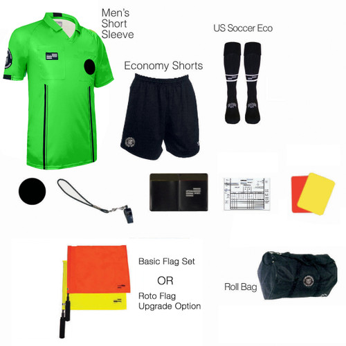 1815G Men's Green 11 Piece USSF Starter Kit RBag