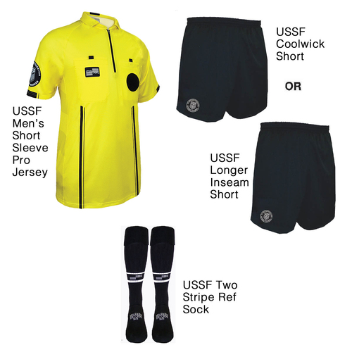 9900Y Men's Yellow Pro Short Sleeve Kit