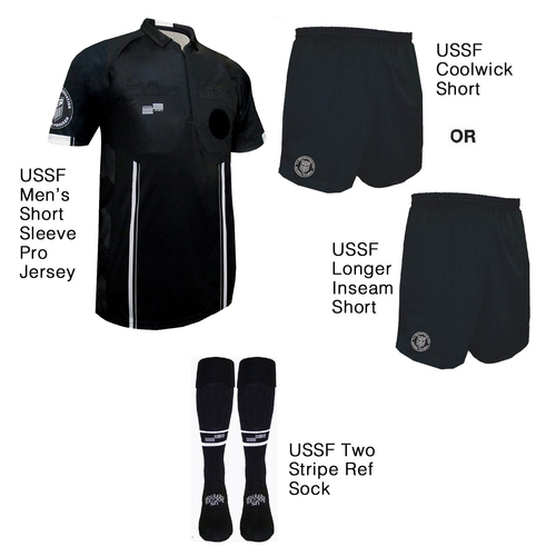 9900B Men's Black Pro Short Sleeve Kit