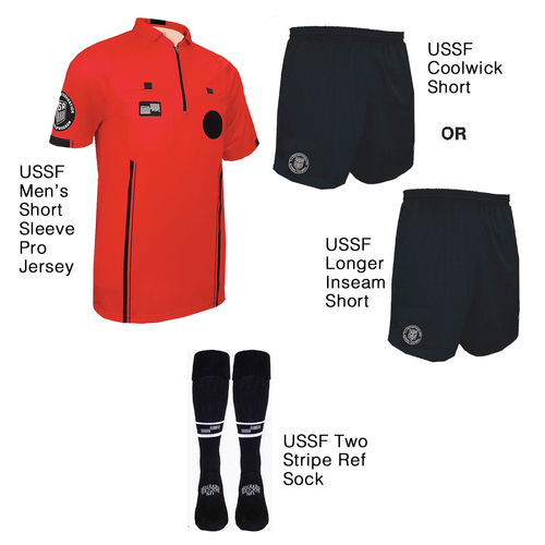 9900R Men's Red Pro Short Sleeve Kit