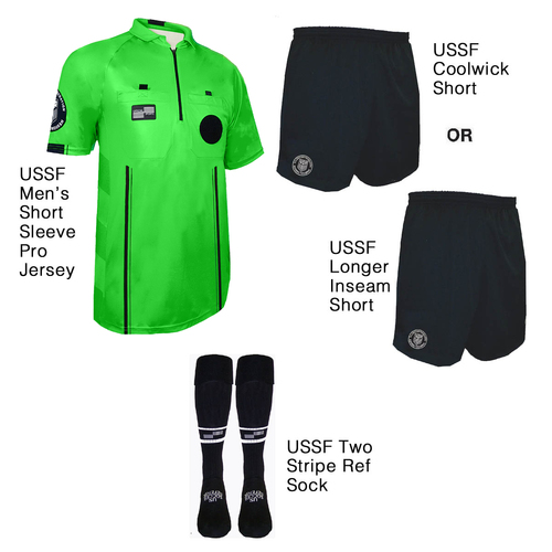 9900G Men's Green Pro Short Sleeve Kit