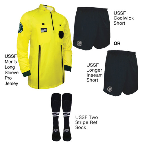 9901Y Men's Yellow Pro Long Sleeve Kit