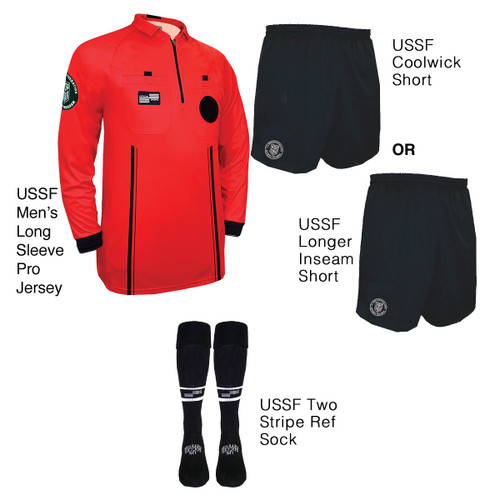 9901R Men's Red Pro Long Sleeve Kit