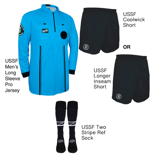 9901BLU Men's Blue Pro Long Sleeve Kit