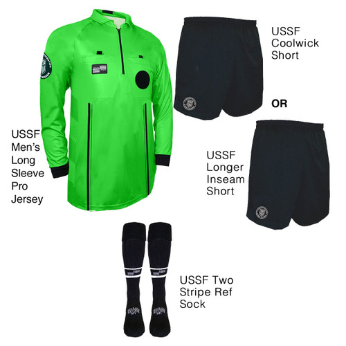 9901G Men's Green Pro Long Sleeve Kit