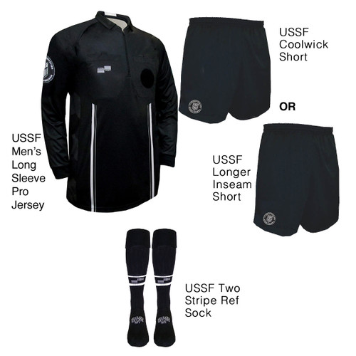 9901B Men's Black Pro Long Sleeve Kit