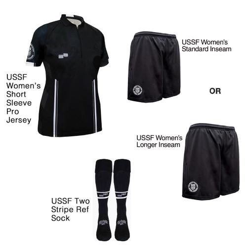W9900B Women's Black Pro Short Sleeve Kit
