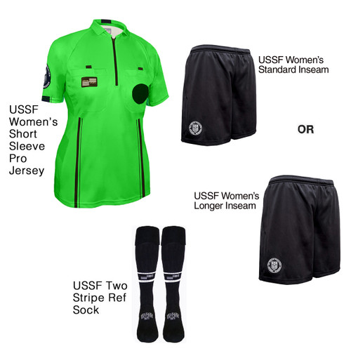 W9900G Women's Green Pro Short Sleeve Kit