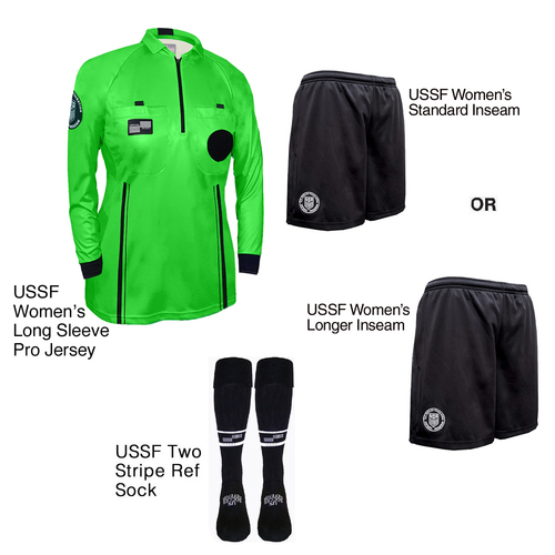 W9901G Women's Green Pro Long Sleeve Kit