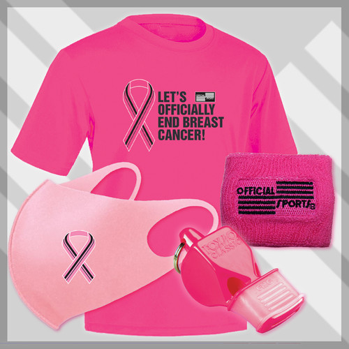 BCKITMG4 Men's  Breast Cancer Awareness 4 PC Kit