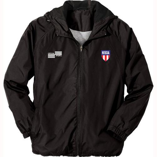 1228JN NISOA Black Rain Jacket