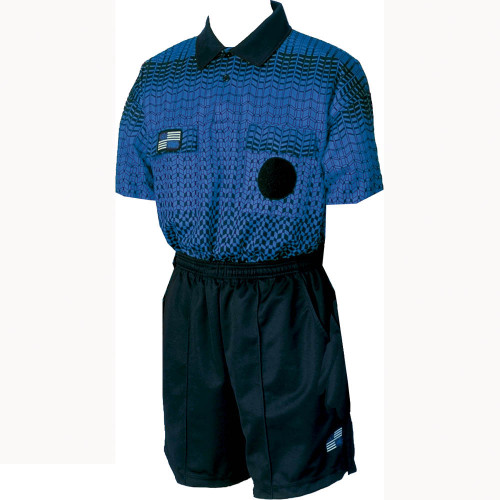 5017NC NISOA Coolwick SS Blue Grid Shirt