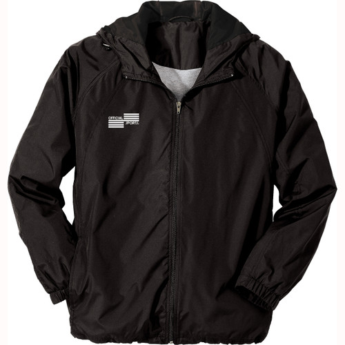 1228J OSI Black Rain Jacket