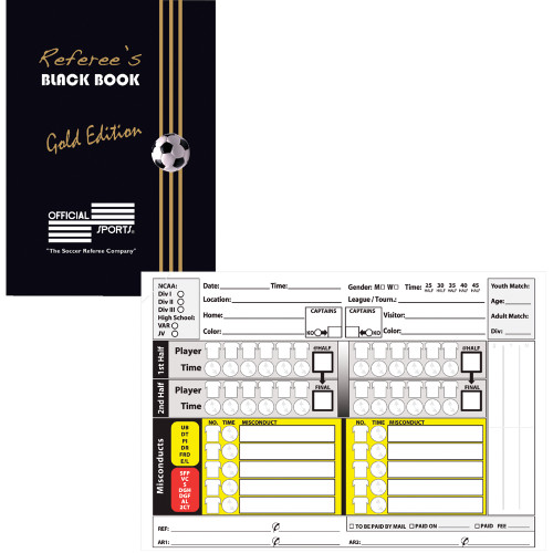 6096 Referees Black Book Gold Edition