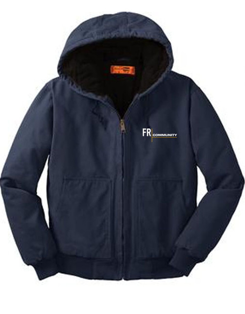 Unisex Insulated Hooded Jacket
