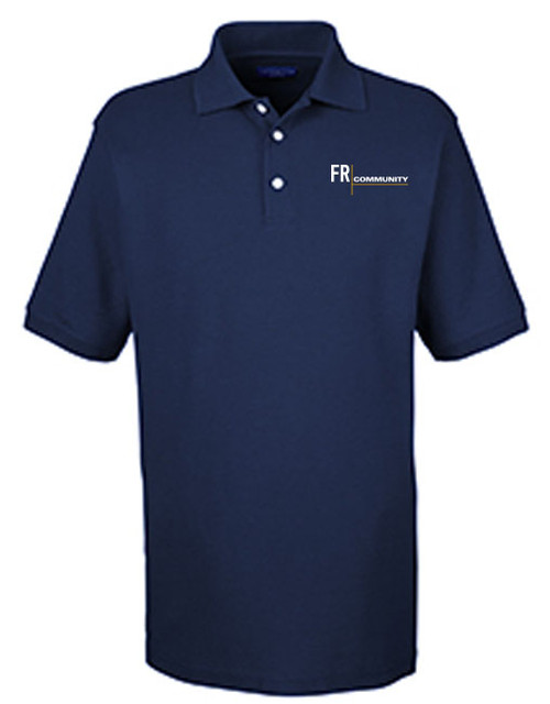 Men's Honeycomb Pique Polo
