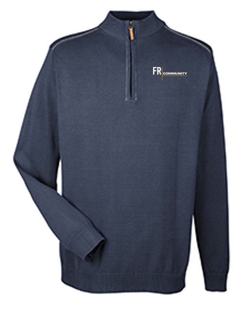 Men's 1/4 Zip Manchester Sweater