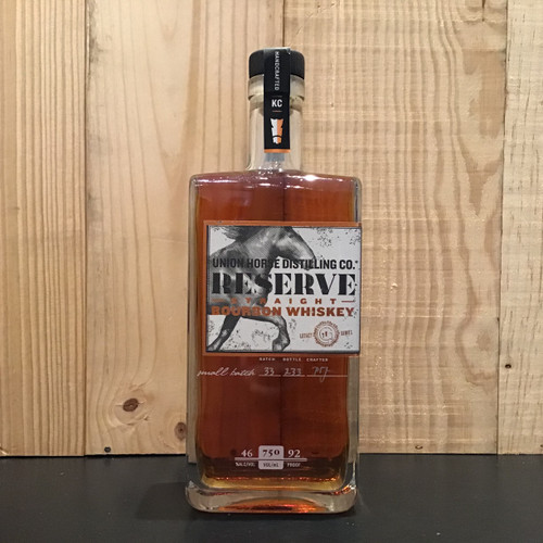 Union Horse - Reserve - Straight Bourbon