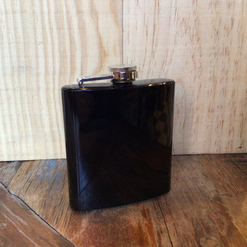 True - Stainless Steel Flask - 6oz