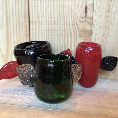 Project FIRE - Handmade Glass Cups