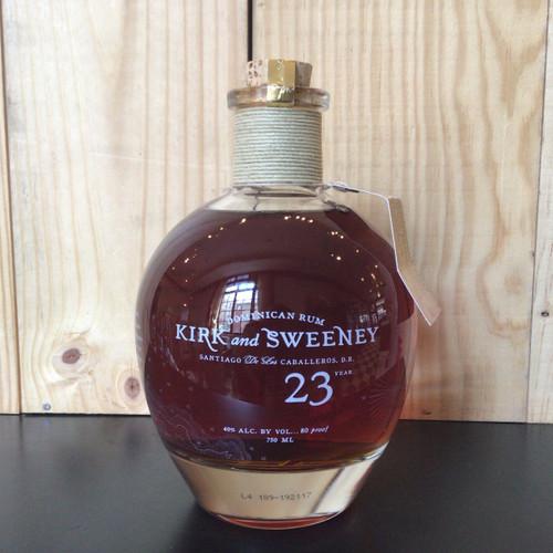 Kirk & Sweeney - 23 Year Dominican Rum