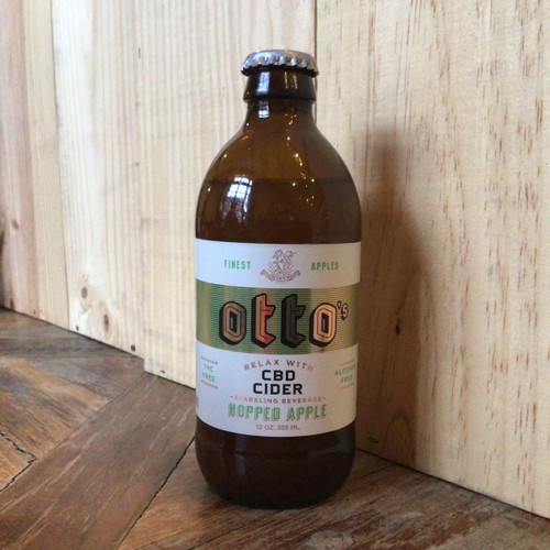 Otto's - Dry Hopped Apple Cider w/ CBD