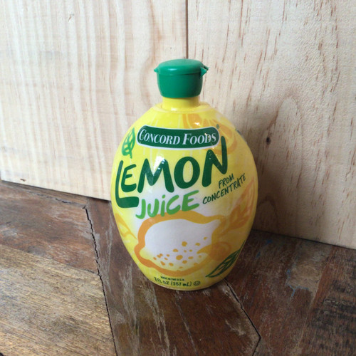 Concord Foods - Lemon Juice From Concentrate - 8oz