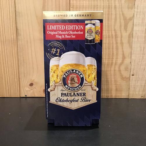 Paulaner - Oktoberfest Bier - 1L Can + glass