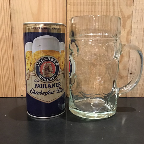 Paulaner - Oktoberfest Bier - 1L Can + Glass