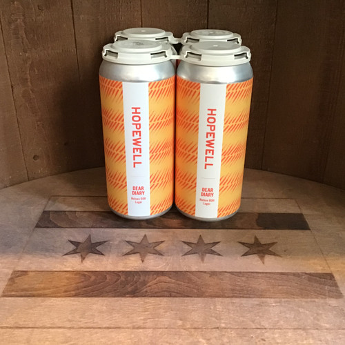 Hopewell - Dear Diary - DDH Lager