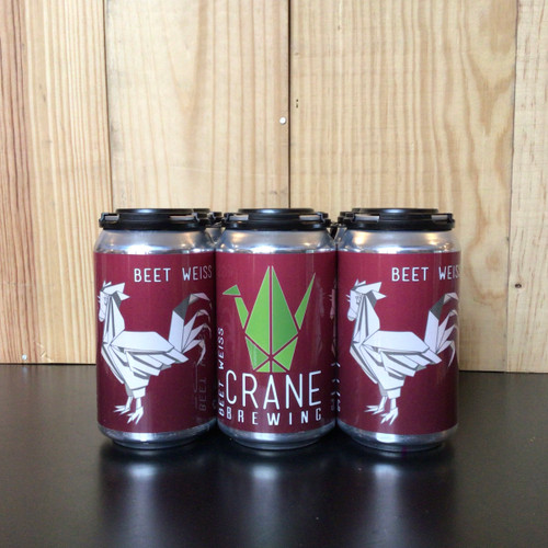 Crane Brewing - Beet Weiss