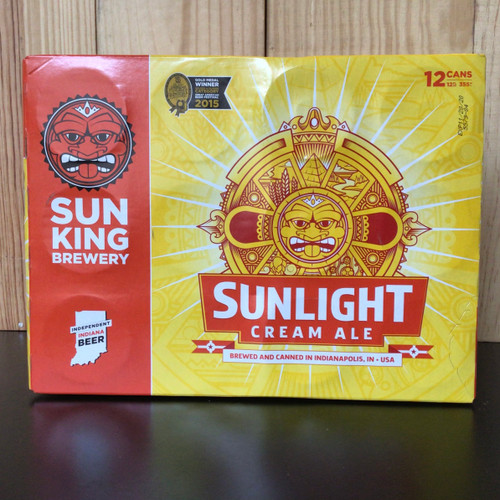 "Sun King - ""Sunlight"" - Cream Ale"