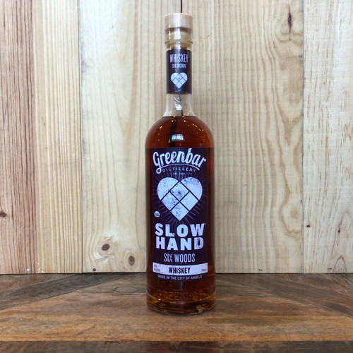Greenbar Distillery - Slow Hand Six Woods Whiskey
