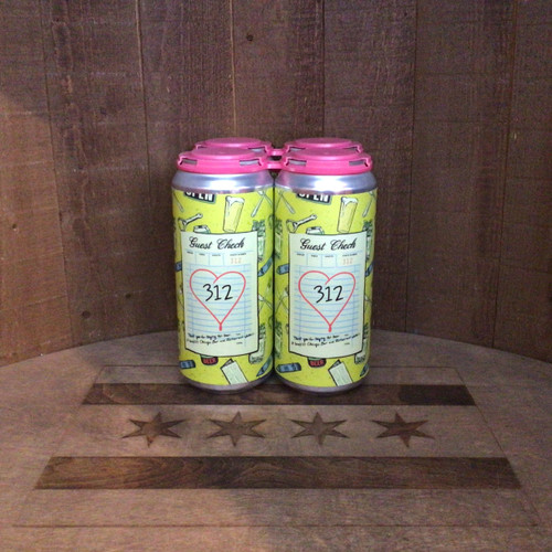 Goose Island - Guest Check 312