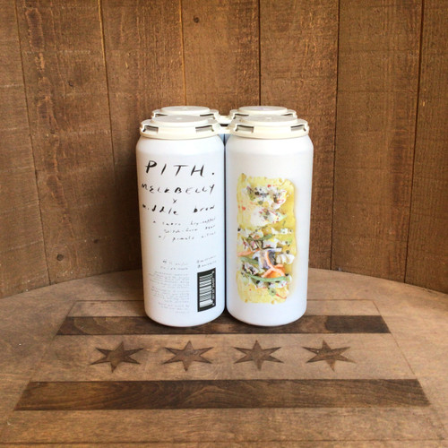 "Middle Brow & Melkbelly - ""Pith"" - Dry-hopped Kolsch w/ Pomelo Citrus"