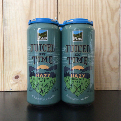 Upland - Juiced in Time - Hazy IPA