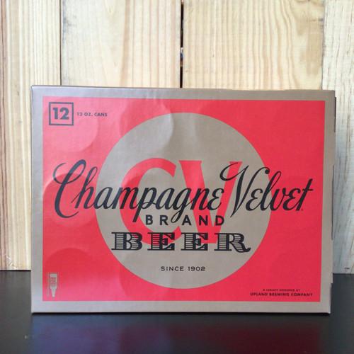 Upland - Champagne Velvet - Pilsner - 12 Pack