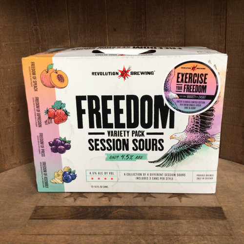 "Revolution - ""Freedom"" Sours Variety Pack"