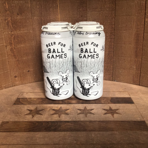 Off Color - Beer for Ball Games - American Style Cream Ale