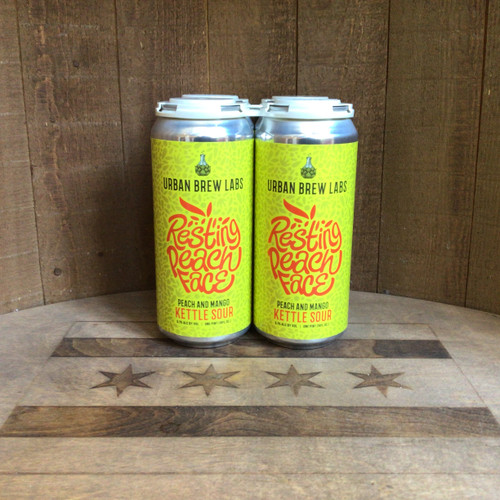 Urban Brew Labs - Resting Peach Face - Kettle Sour w/ Mango & Peach