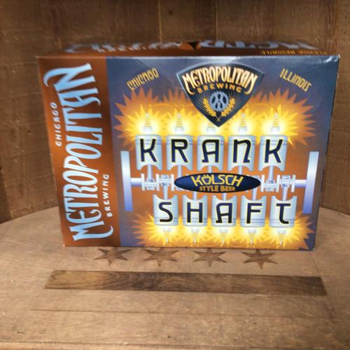Metropolitan - Krank Shaft Kolsch - 12 Pack cans