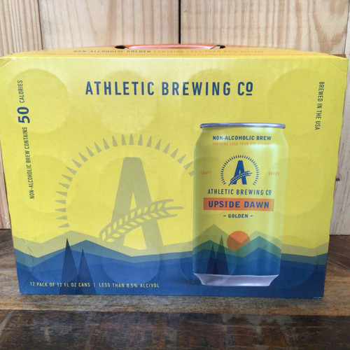 """Athletic Brewing - """"Upside Dawn"""" - Non-Alcoholic Golden Ale"""