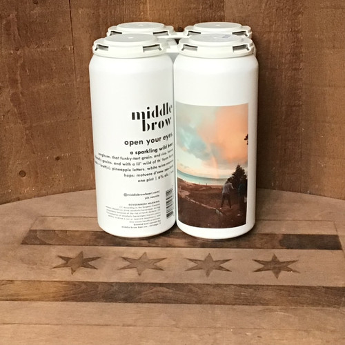 """Middle Brow - """"Open Your Eyes"""" - A Sparkling Wild Beer"""