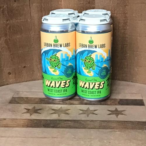 "Urban Brew Labs - ""Second City Waves"" - West Coast IPA"